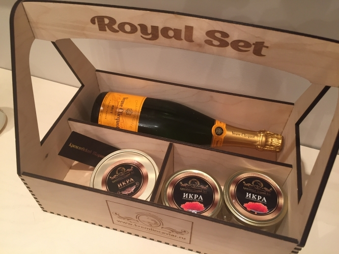 Royal Set with Veuve Clicqout