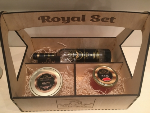 Royal Set with vodka