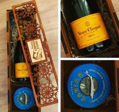 Premium Caviar Set with Veuve Clicquot Brut
